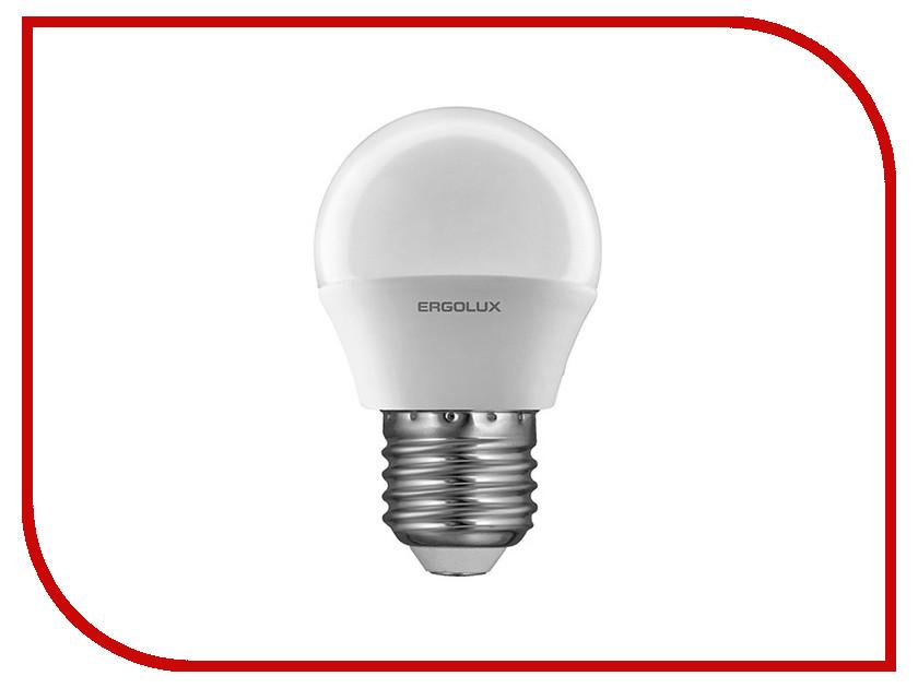 Лампочка Ergolux Шар LED-G45-5W-E27-4K 12141<br>