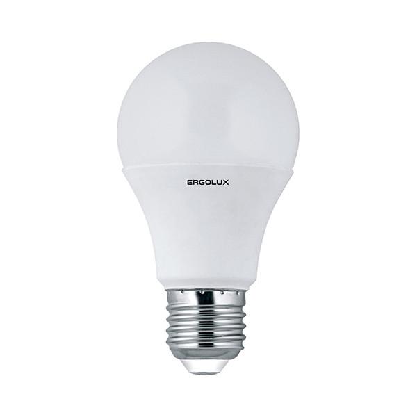 Лампочка Ergolux ЛОН LED-A60-10W-E27-4K 12149