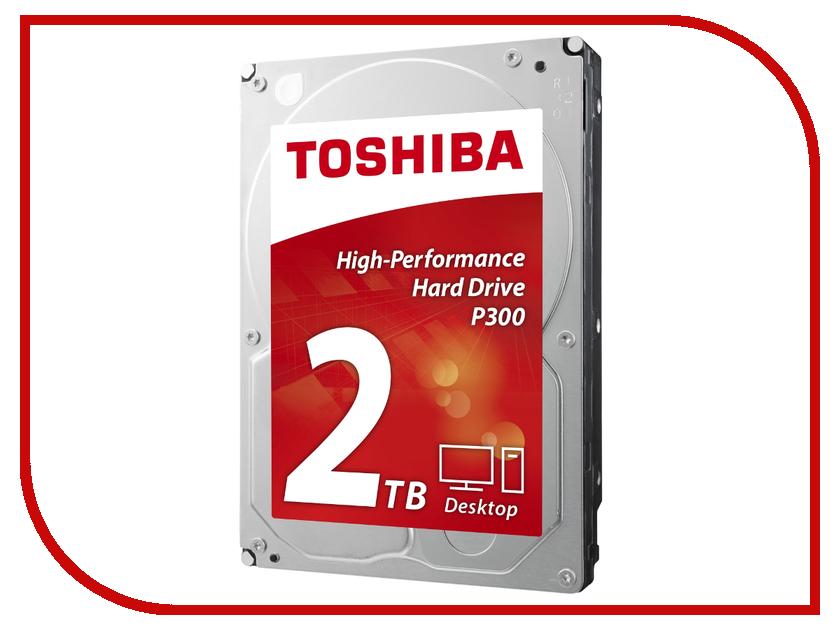 Жесткий диск 2Tb - Toshiba P300 HDWD120UZSVA тетрадь 80 л а5 клетка эксмо серия домашние любимцы коты обл в асс на спирали тсл804641
