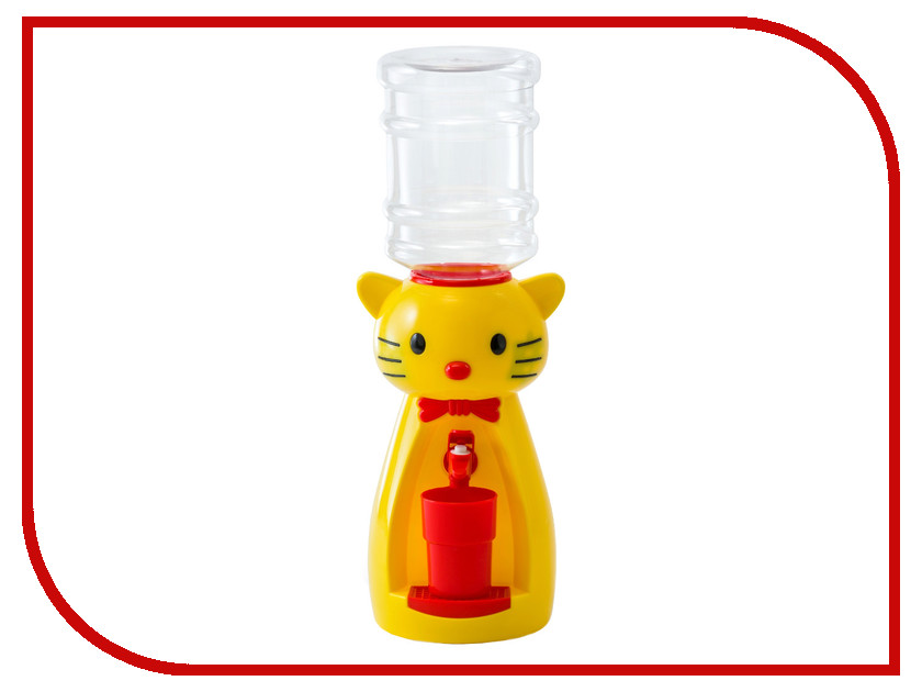 Кулер Vatten Kids Kitty со стаканчиком Yellow 4919<br>