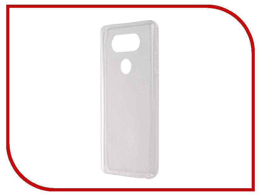 Аксессуар Чехол LG V20 SkinBox Slim Silicone Transparent T-S-LV20-006<br>