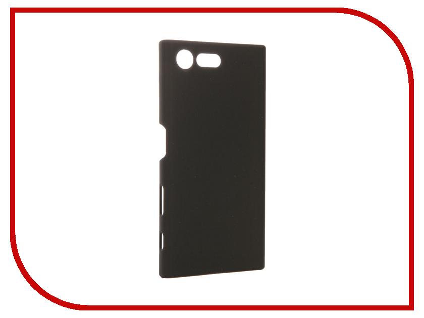 Аксессуар Чехол Sony Xperia X Compact SkinBox 4People Black T-S-SXXC-002<br>