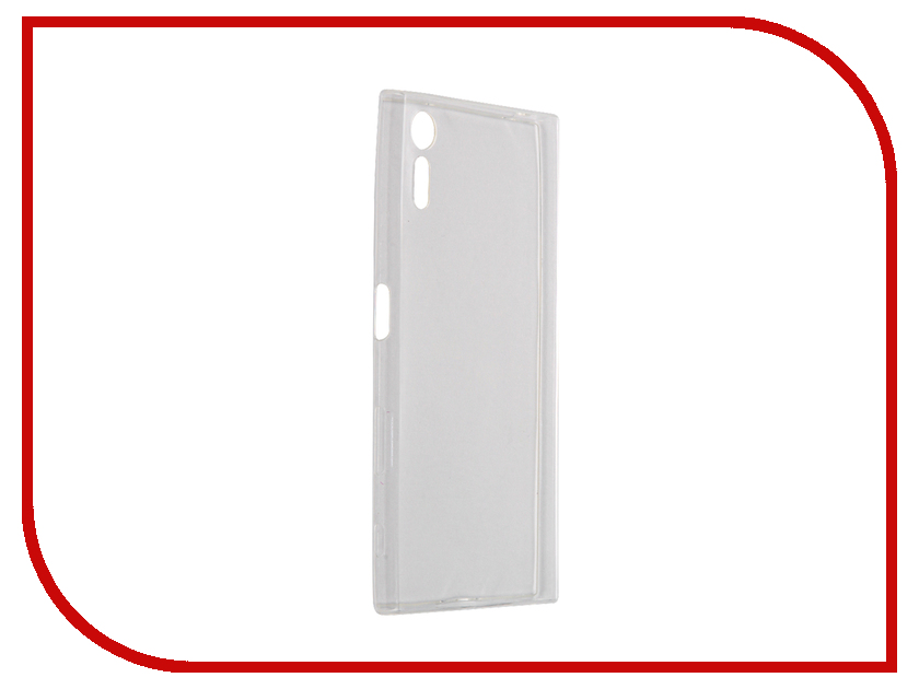 Аксессуар Чехол Sony Xperia XZ SkinBox Slim Silicone Transparent T-S-SXXZ-006<br>