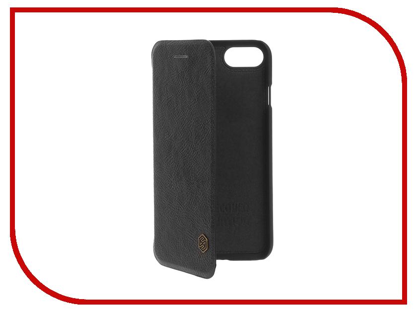 Аксессуар Чехол Nillkin QIN для iPhone 7 Black T-N-AI7-025<br>
