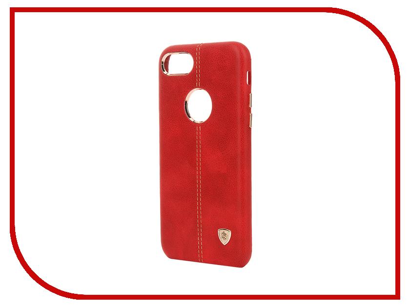 Аксессуар Чехол Nillkin Englon Leather Cover iPhone 7 Red T-N-AI7-029<br>