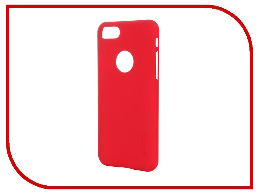 Аксессуар Чехол-накладка Nillkin Frosted Shield для iPhone 7 Red<br>