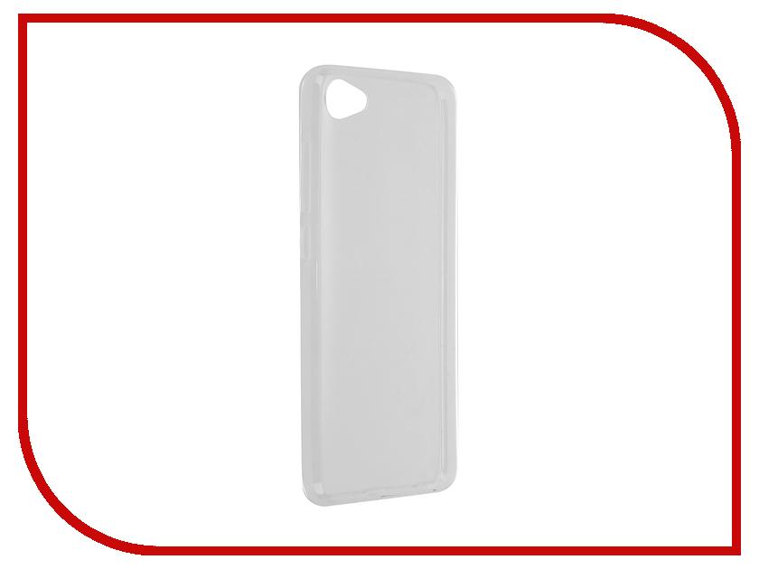 Аксессуар Чехол Meizu U10 SkinBox Slim Silicone Transparent T-S-MU10-006