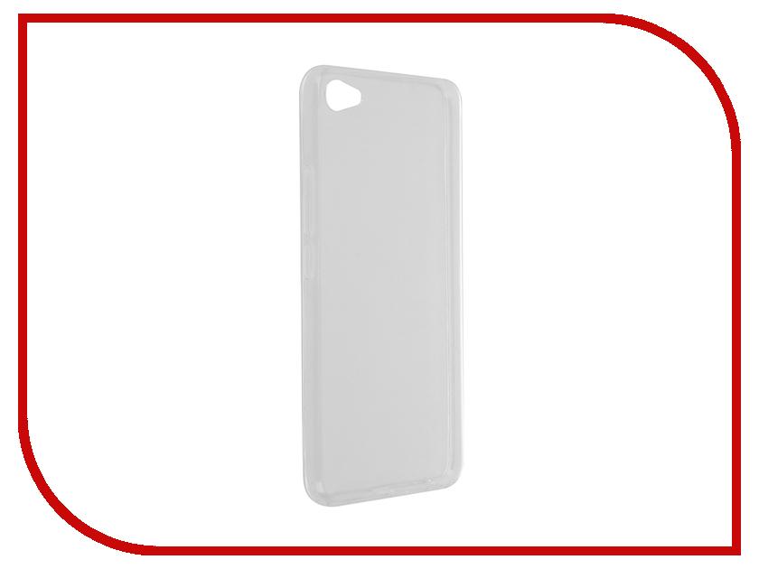 Аксессуар Чехол Meizu U20 SkinBox Slim Silicone Transparent T-S-MU20-006