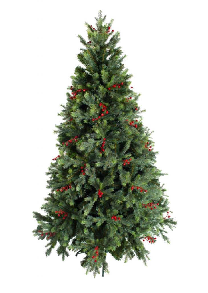 Ель Green Trees Грацио с ягодами Премиум 120cm 156518 ель новогодняя green trees 2 1 м таежная 300 197