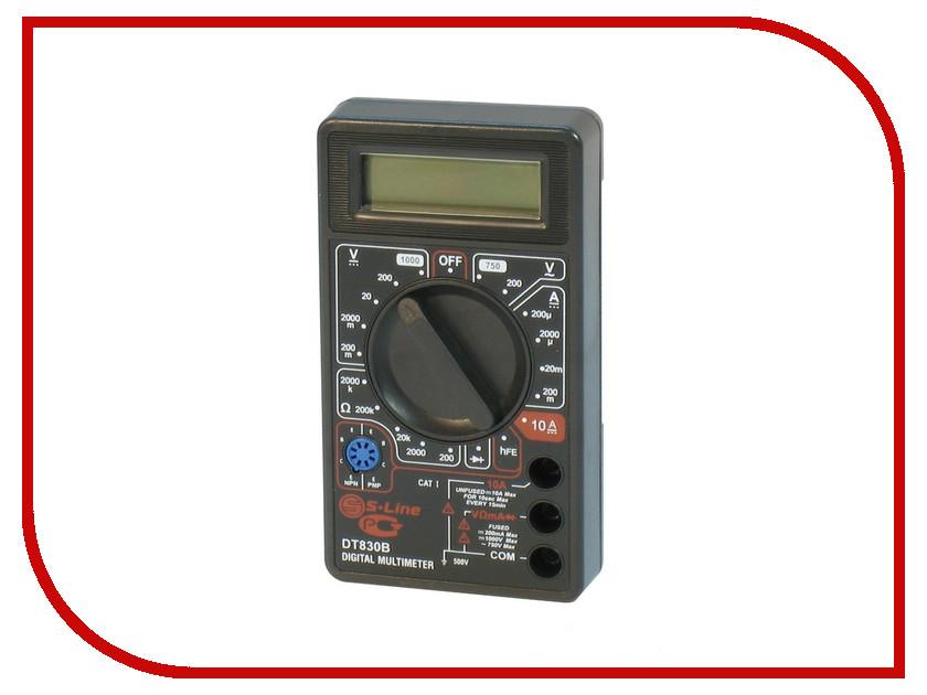 Мультиметр S-Line DT-830B мультиметр многофункциональный ресанта dt 830b