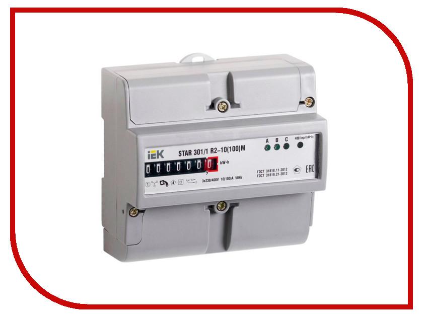 Счетчик электроэнергии IEK STAR 301/1 R2-10(100)М CCE-3R1-2-01-1<br>