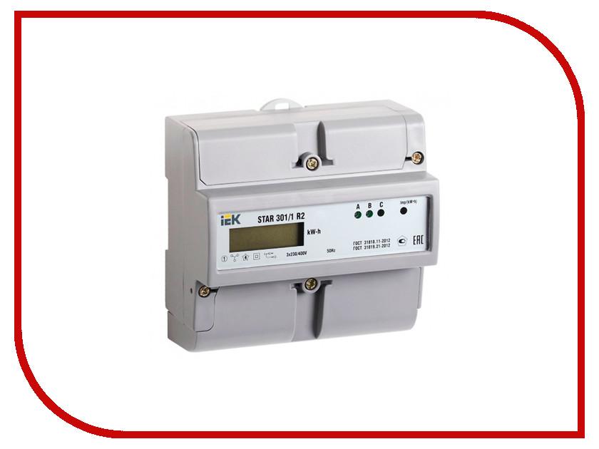 Счетчик электроэнергии IEK STAR 301/1 R2-5(60)Э CCE-3R1-1-02-1<br>