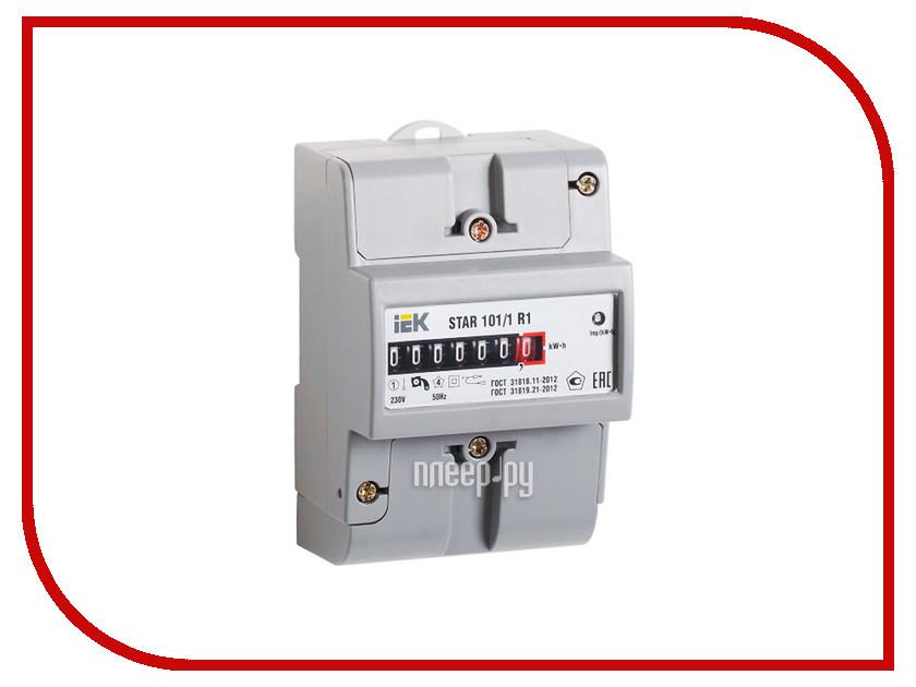 Счетчик электроэнергии IEK STAR 101/1 R1-5(60)М Ш2 CCE-1R1-1-01-2 соединительная шина 1п типа pin iek yns21 1 063