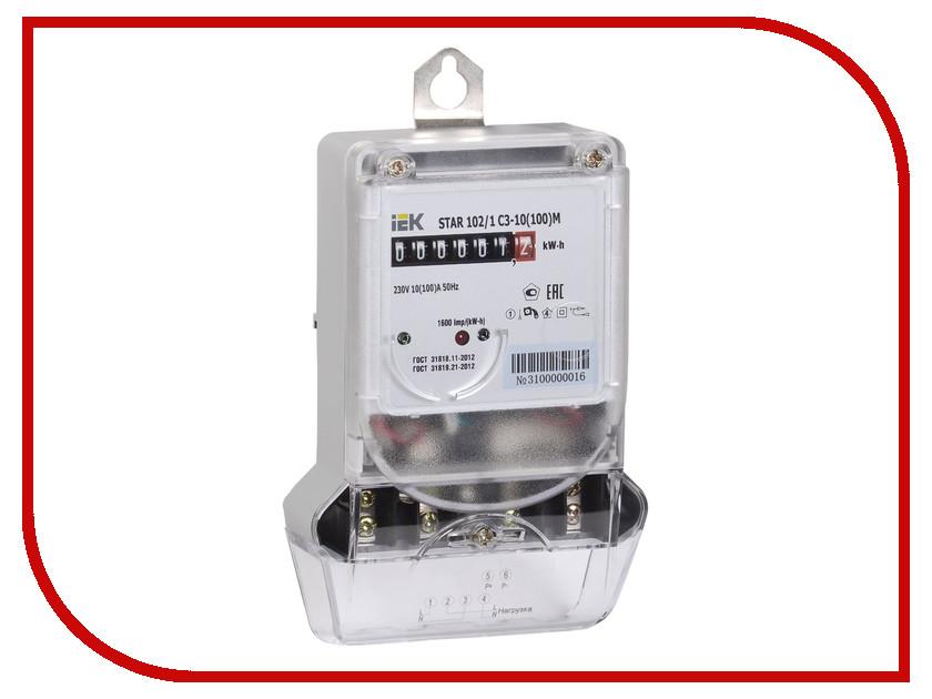 Счетчик электроэнергии IEK STAR 102/1 C3-10(100)М CCE-1C1-2-01-1