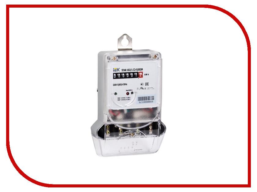 Счетчик электроэнергии IEK STAR 102/1 C3-5(60)М CCE-1C1-1-01-1