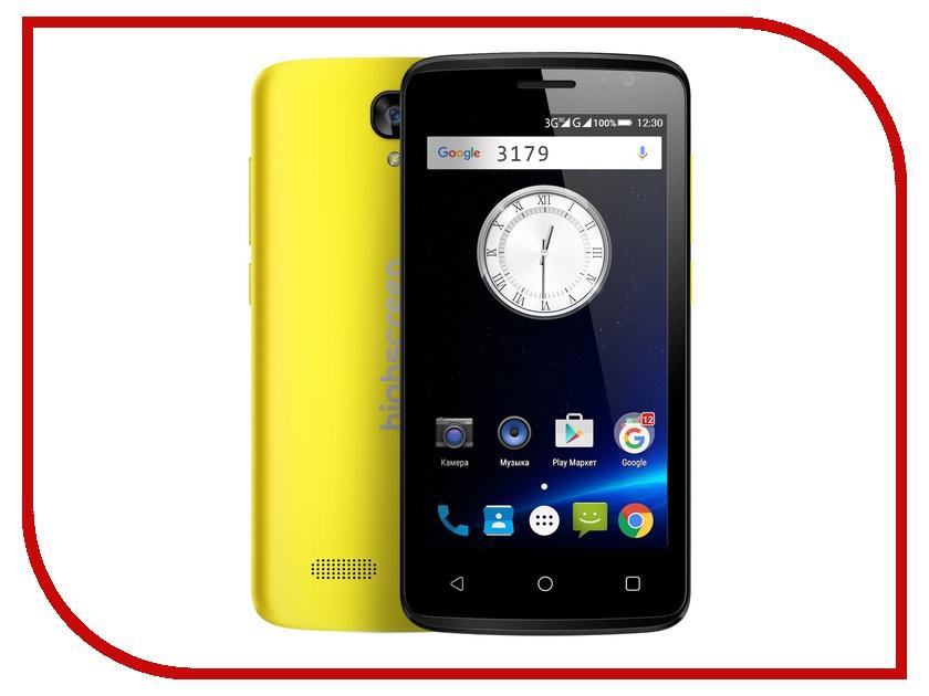 Сотовый телефон Highscreen Easy F Yellow<br>