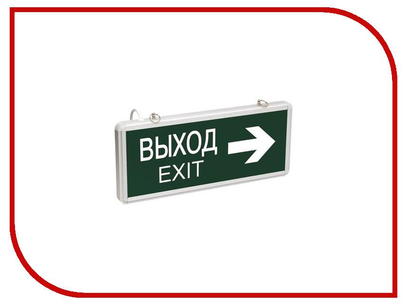 Светильник IEK CCA 1004 ВЫХОД-EXIT LSSA0-1004-003-K03