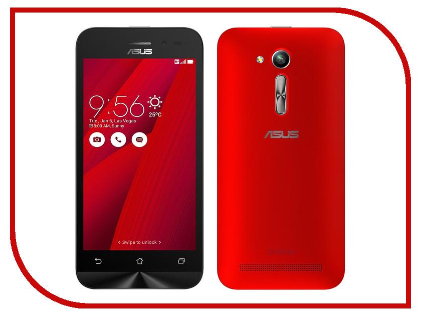 Сотовый телефон ASUS ZenFone Go ZB450KL 8Gb Red<br>