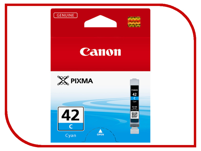 Картридж Canon CLI-42 C Cyan 6385B001<br>