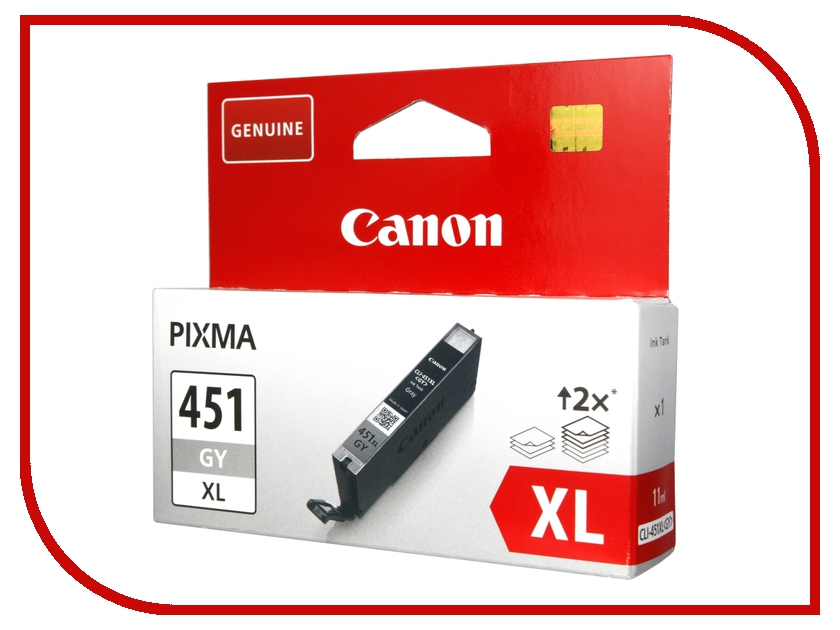 Картридж Canon CLI-451GY XL Grey 6476B001<br>