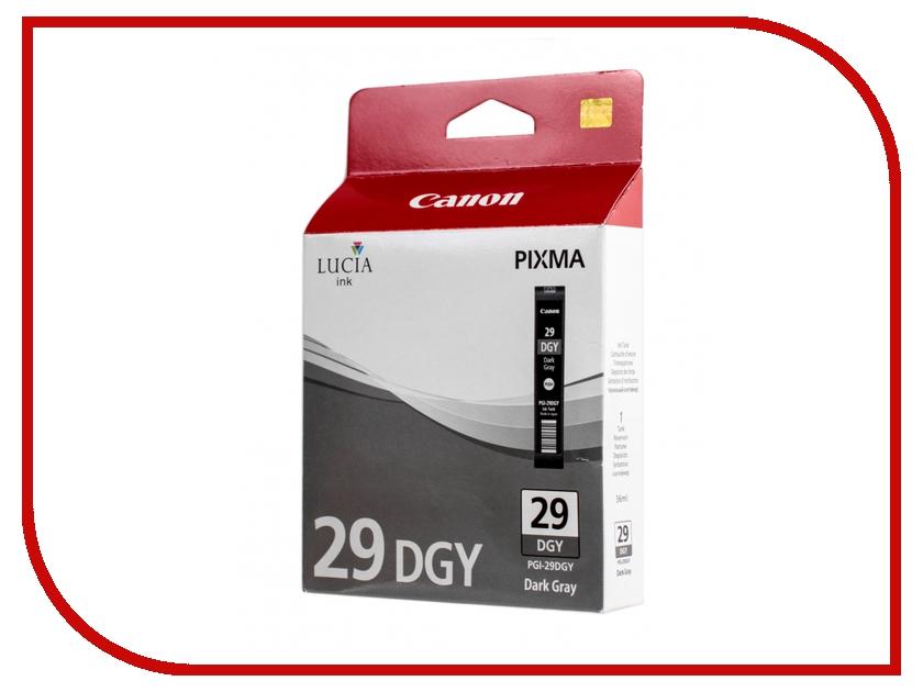 Картридж Canon PGI-29 DGY Dark Gray для Pixma Pro 1 4870B001<br>