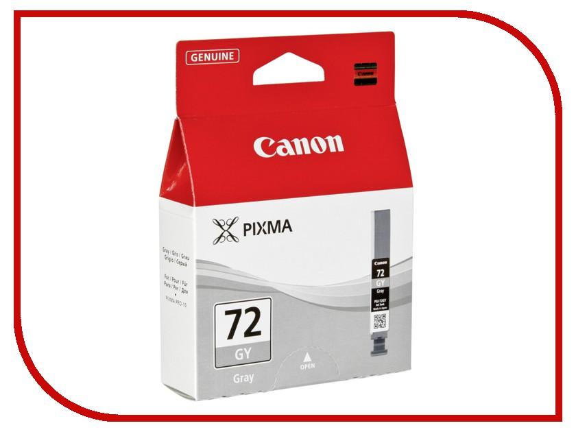 Картридж Canon PGI-72 GY Gray 6409B001 картридж canon pgi 72 pc photo cyan 6407b001