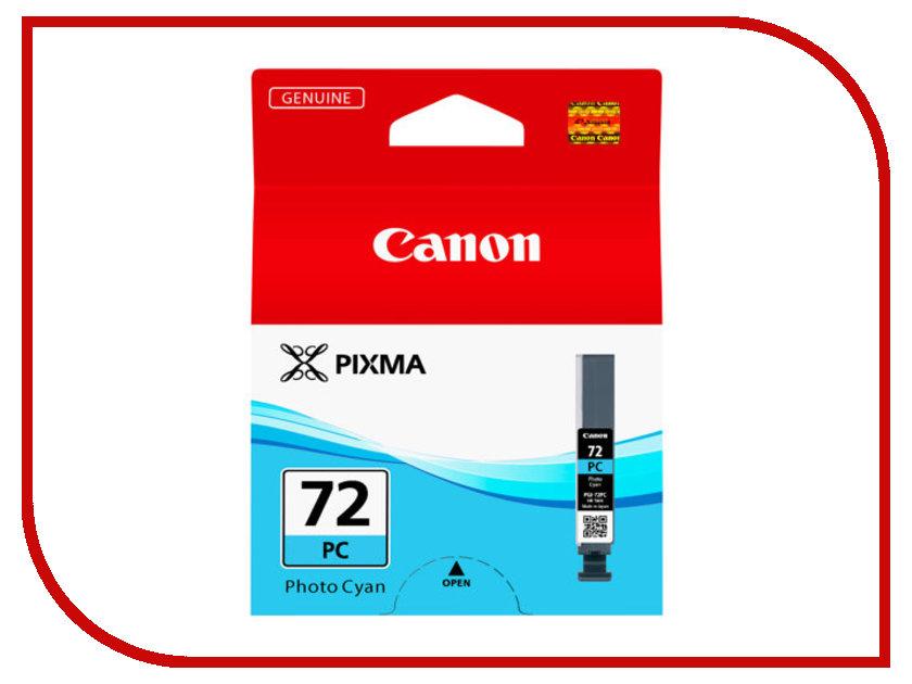 Картридж Canon PGI-72 PC Photo Cyan 6407B001