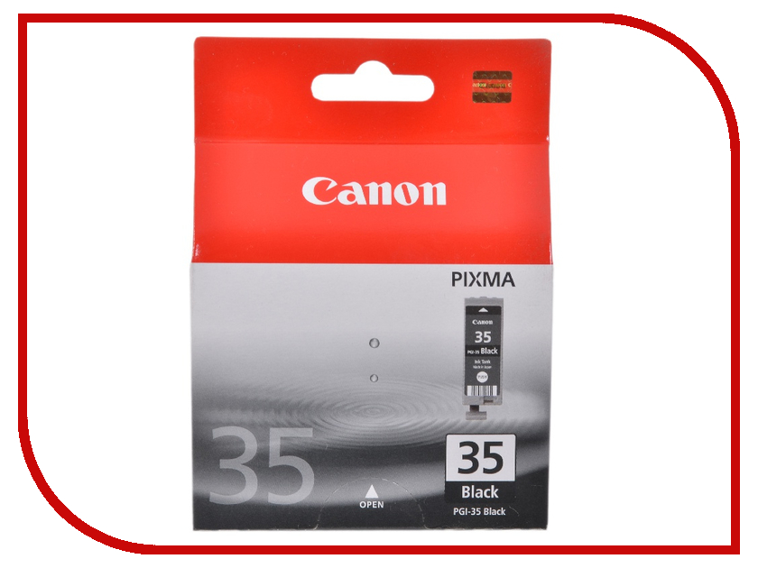 Картридж Canon PGI-35 Black для Pixma iP100 1509B001 картридж t2 ic cpgi 35 для canon pixma ip100 black