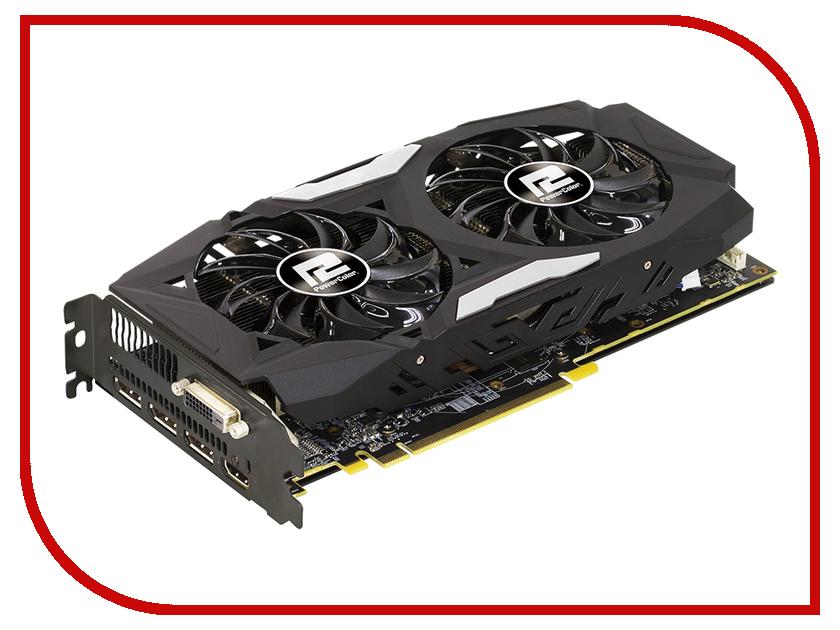 Видеокарта PowerColor Radeon RX 480 1266Mhz PCI-E 3.0 8192Mb 8000Mhz 256 bit DVI HDMI HDCP AXRX 480 8GBD5-3DHD<br>