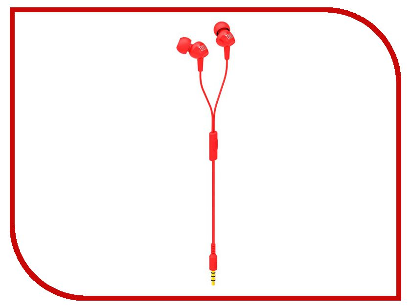 Гарнитура JBL C100SI Red<br>
