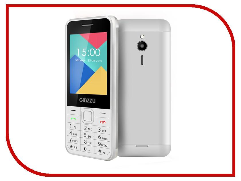Сотовый телефон Ginzzu M108 DUAL White