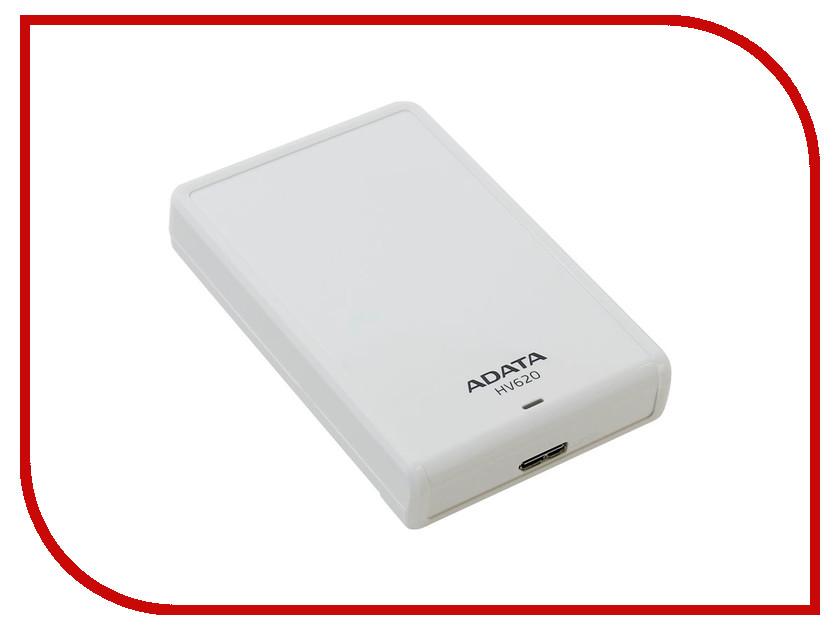 Жесткий диск A-Data HV620 2Tb White AHV620-2TU3-CWH