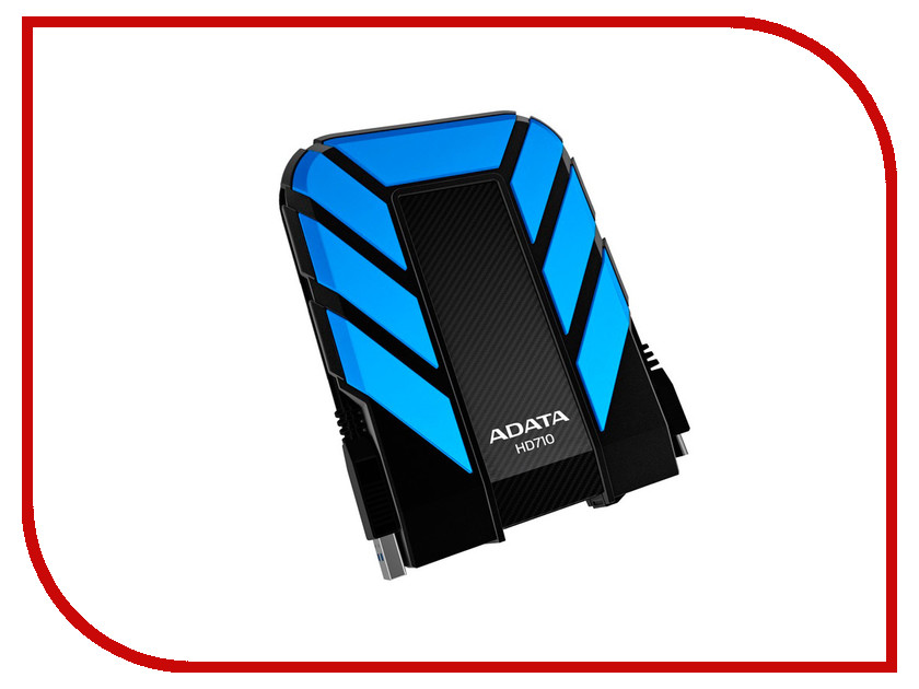 Жесткий диск A-Data HD710 2Tb Blue AHD710-2TU3-CBL