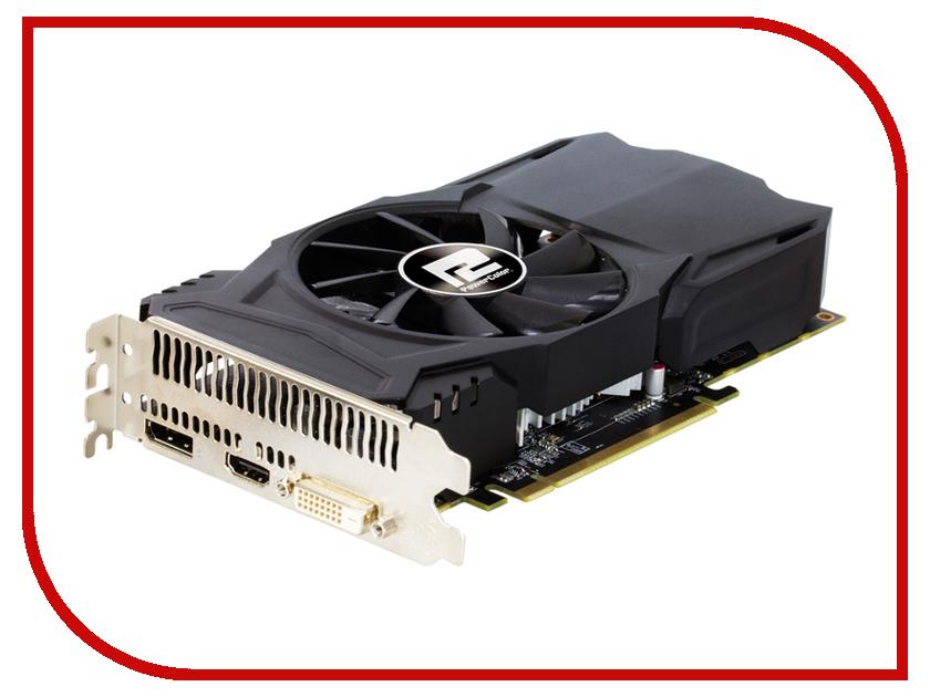 Видеокарта PowerColor Radeon RX 460 1212Mhz PCI-E 3.0 4096Mb 7000Mhz 128 bit DVI HDMI HDCP AXRX 460 AXRX 460 4GBD5-DH/OC