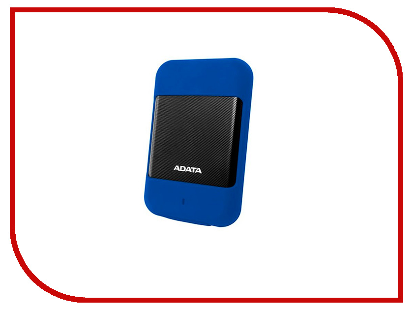 Жесткий диск A-Data HD700 1Tb Blue AHD700-1TU3-CBL