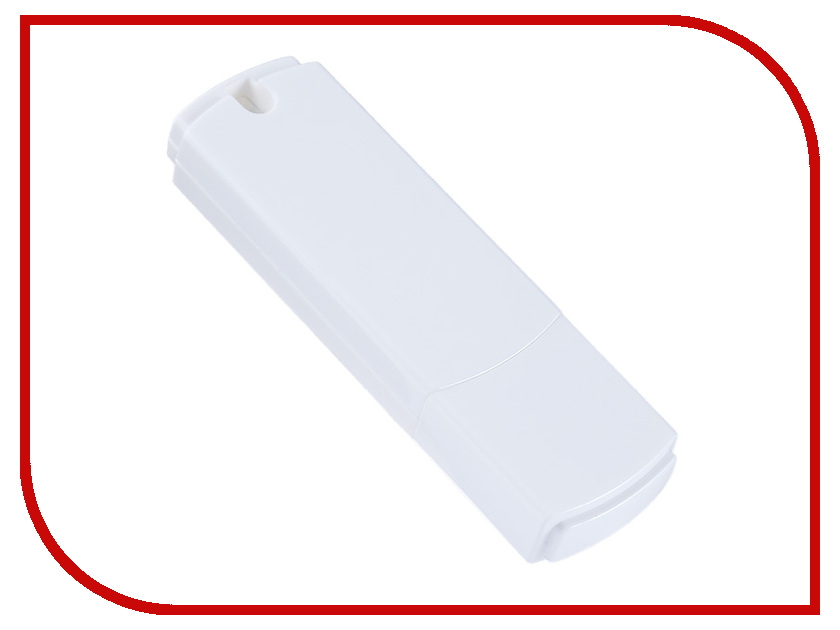 USB Flash Drive 8Gb - Perfeo C05 White PF-C05W008