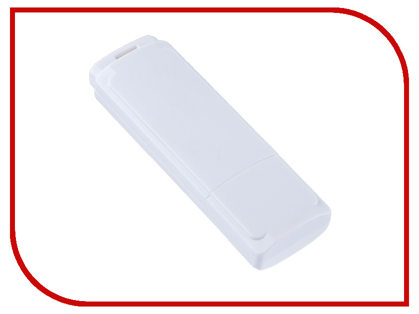 USB Flash Drive 8Gb - Perfeo C04 White PF-C04W008<br>