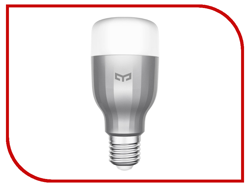 Гаджет Xiaomi Yeelight Smart Led Bulb Color Silver GPX4002RT