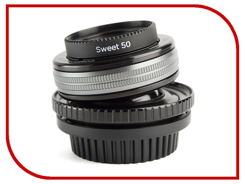 Объектив Lensbaby Composer Pro II w/Sweet 50 for Fuji X LBCP250F 84642<br>
