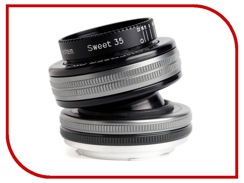 Объектив Lensbaby Composer Pro II w/Sweet 35 for Fuji X LBCP235F 84639 84638 lensbaby