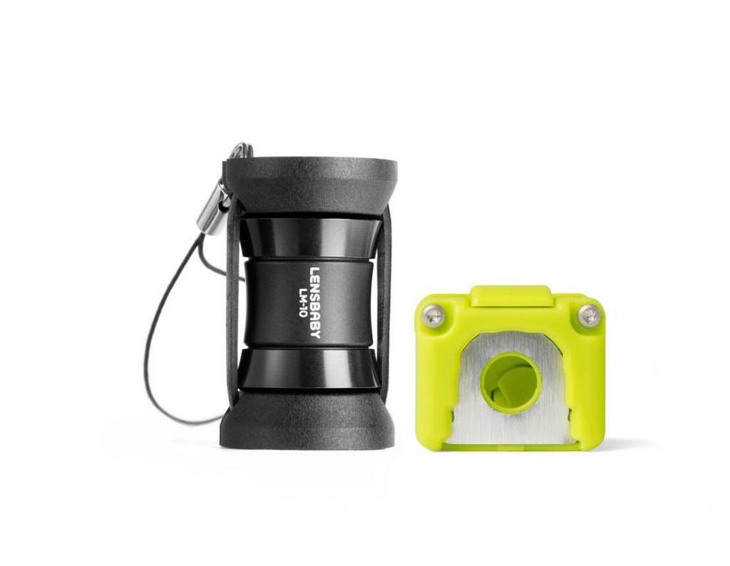 Объектив Lensbaby LM-10 Sweet Spot Lens for Mobile + крепеж на iPhone 5S/5SE LBLM10-IPS 84645 объектив lensbaby composer pro w sweet 35 for micro 4 3