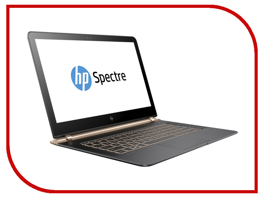 Ноутбук HP Spectre 13 13-v101ur Y5V43EA Intel Core i5-7200U 2.5 GHz/8192Mb/512Gb SSD/No ODD/Intel HD Graphics/Wi-Fi/Bluetooth/Cam/13.3/1920x1080/Windows 10 64-bit<br>
