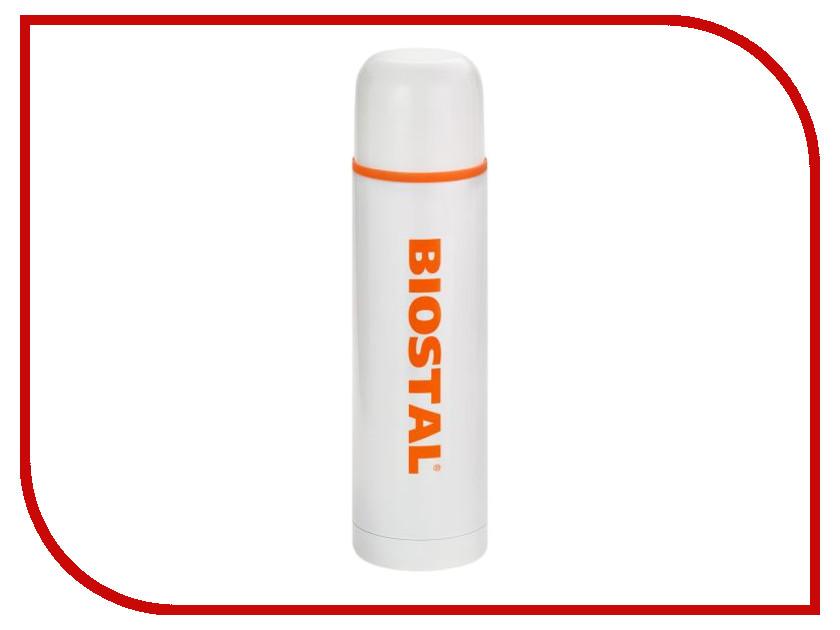 Термос Biostal 1L White NB-1000C-W
