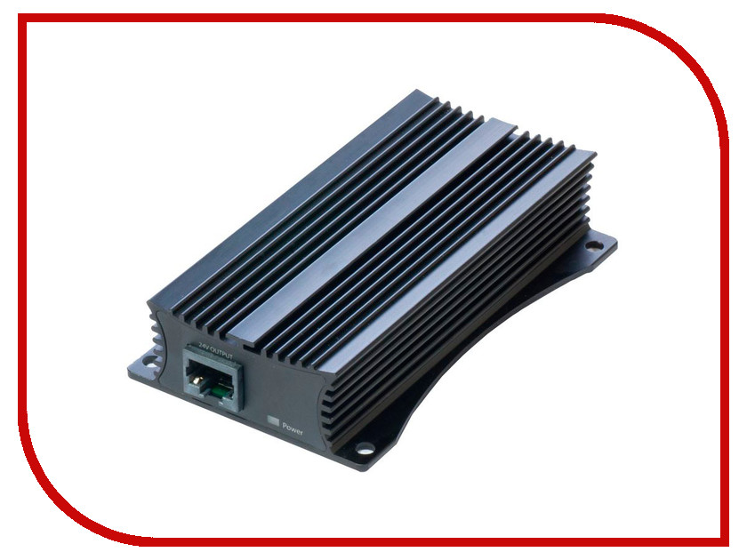 Конвертор MikroTik 48 to 24V Gigabit PoE Converter RBGPOE-CON-HP<br>
