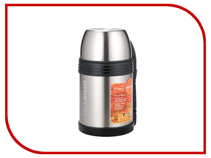 Термос Biostal 1L NGP-1000-P термос зубр эксперт 1l 48150 1000