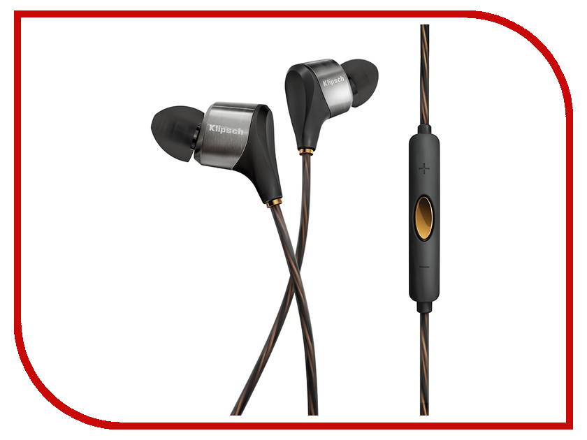 Гарнитура Klipsch XR8i Reference Black<br>