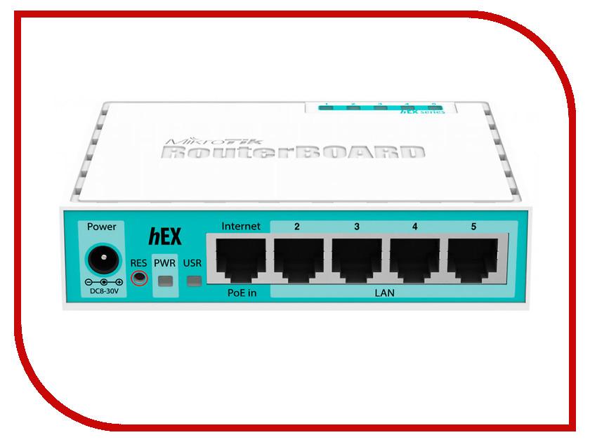 Роутер MikroTik hEX RB750Gr2<br>