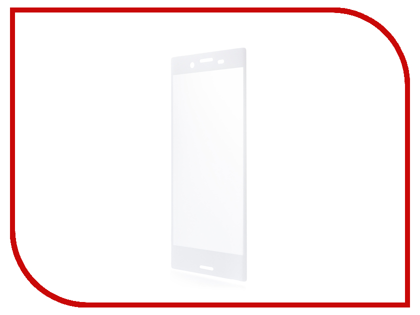 Аксессуар Защитное стекло Sony Xperia X Compact BROSCO 0.3mm White XC-3D-GLASS-WHITE защитное стекло muvit 3d glass для sony xperia x compact глянцевое