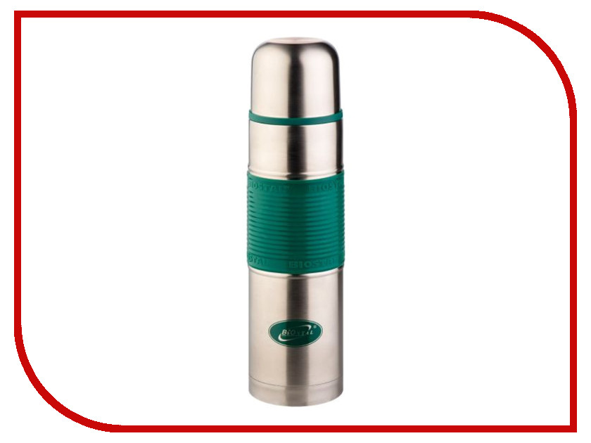 Термос Biostal 750ml Green NB-750P-G