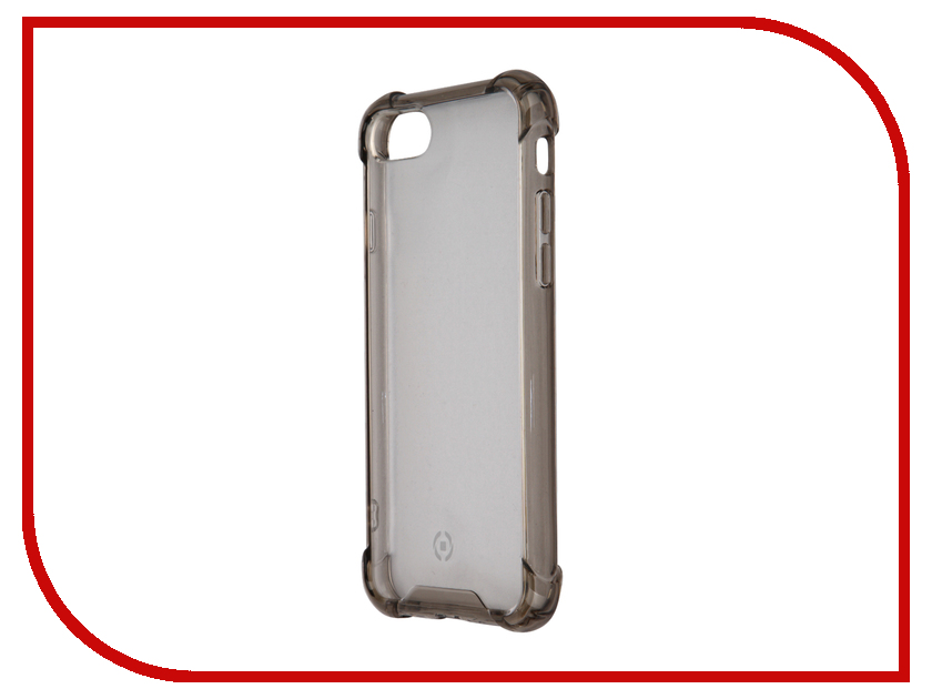 Аксессуар Чехол Celly Armor для iPhone 7 Grey ARMOR800BK<br>